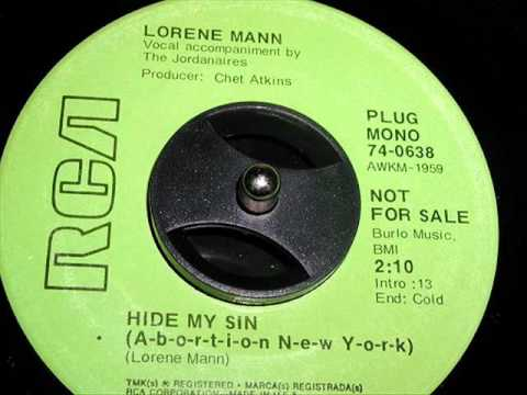 Hide My Sin by Lorene Mann