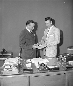 Jim Denny with Jim Reeves
