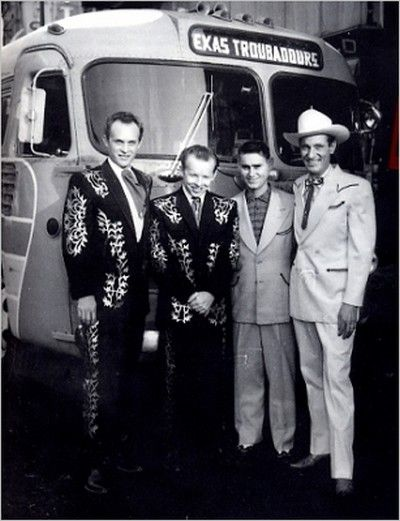 The Louvin Brothers with George Jones and Ernest Tubb