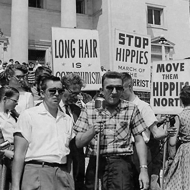 Anti-Hippie Protest