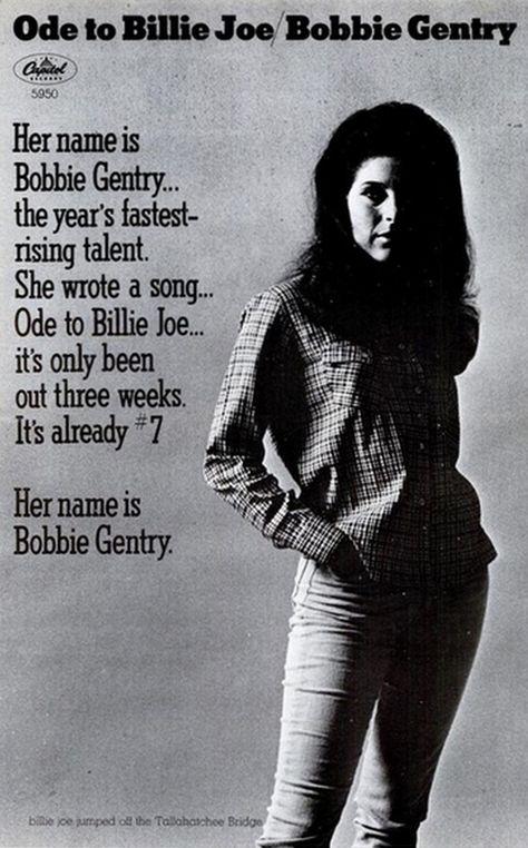 Bobbie Gentry Billboard ad