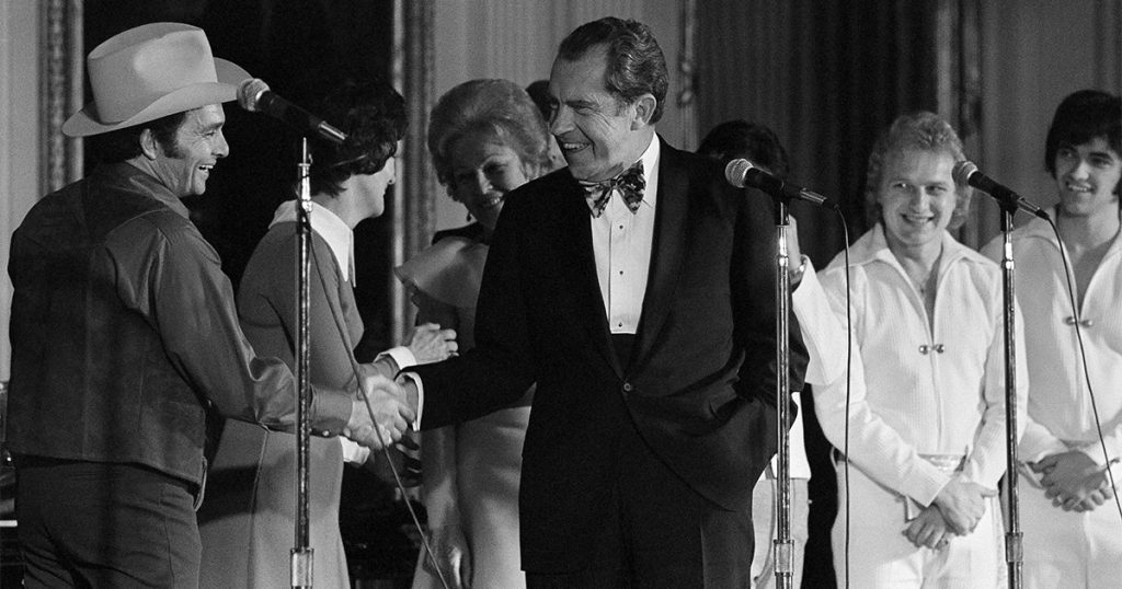 Merle Haggard and Nixon