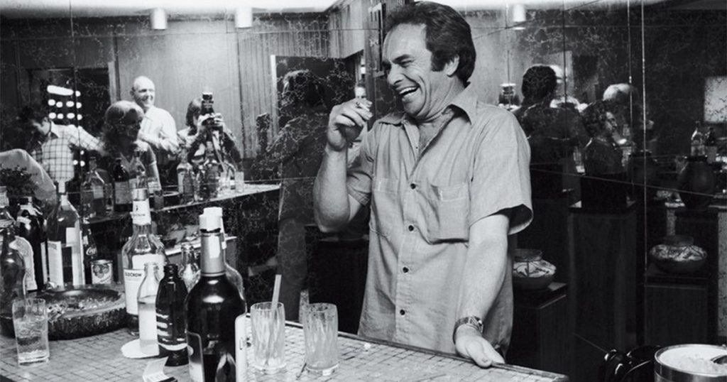 Merle Haggard laughing