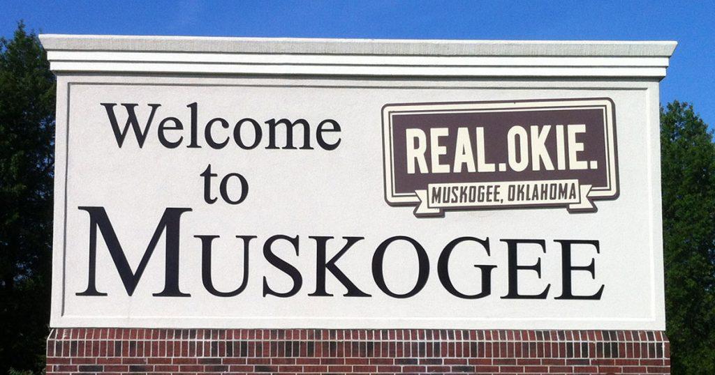 Muskogee sign