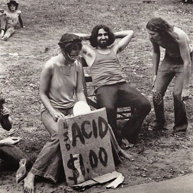 Selling Acid at Woodstock