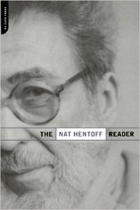 The Nat Hentoff Reader by Nat Hentoff