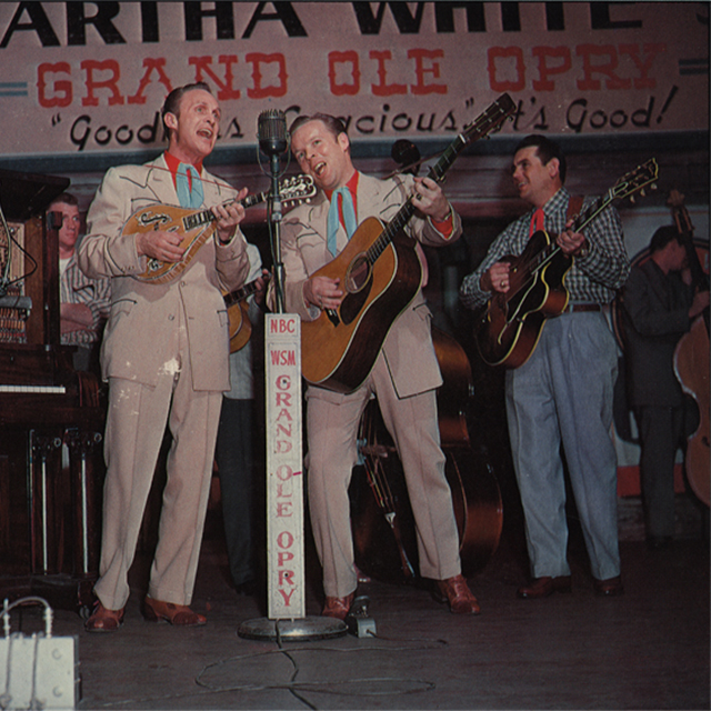 Louvin Brothers on Grand Ole Opry in color