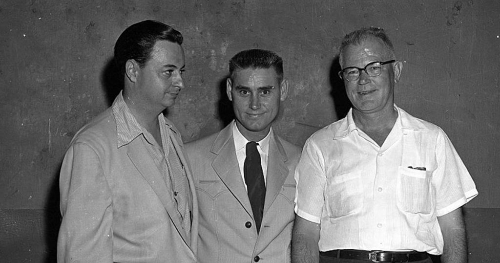Hal Smith, George Jones & Pappy Daily