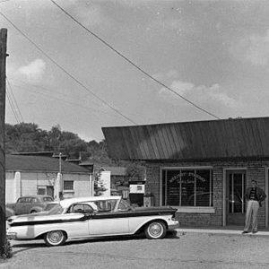 Don Pierce outside Mercury-Starday's Hendersonville office