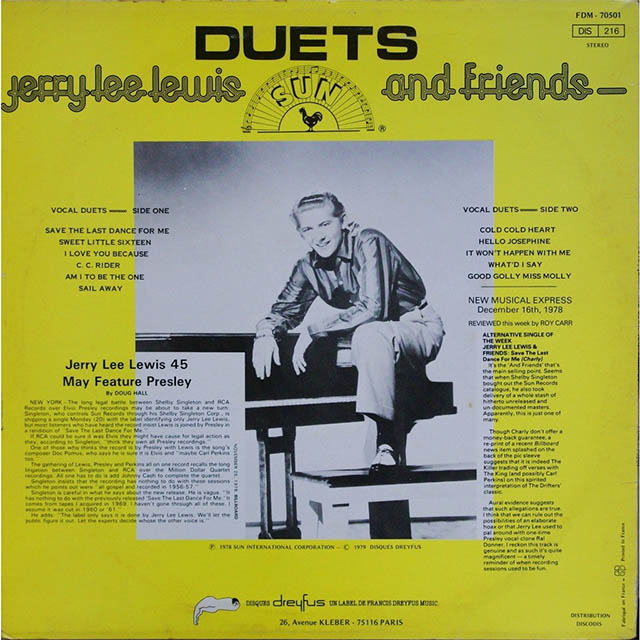 Duets by Jerry Lee Lewis