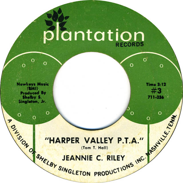 Harper Valley PTA by Jeannie C. Riley