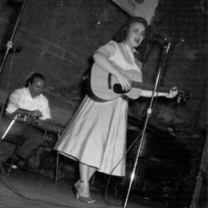 Margie Singleton on the Lousiana Hayride