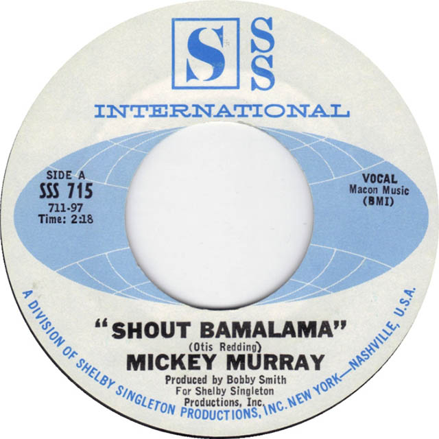 Shout Bamalama by Mickey Murray