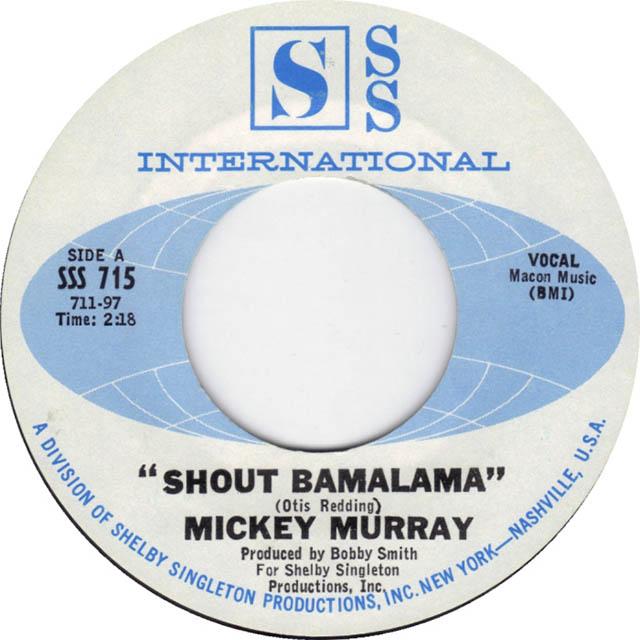 Shout Bamalama by Mickey Murray