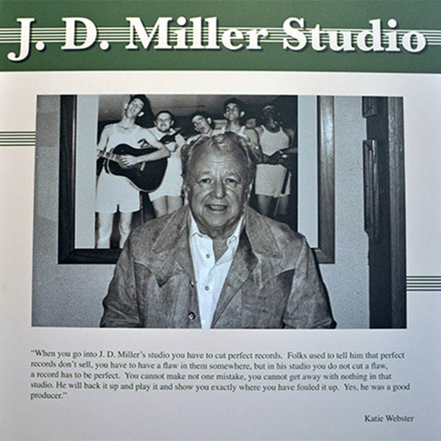 JD Miller in his studio (Rusty Doug underwear)