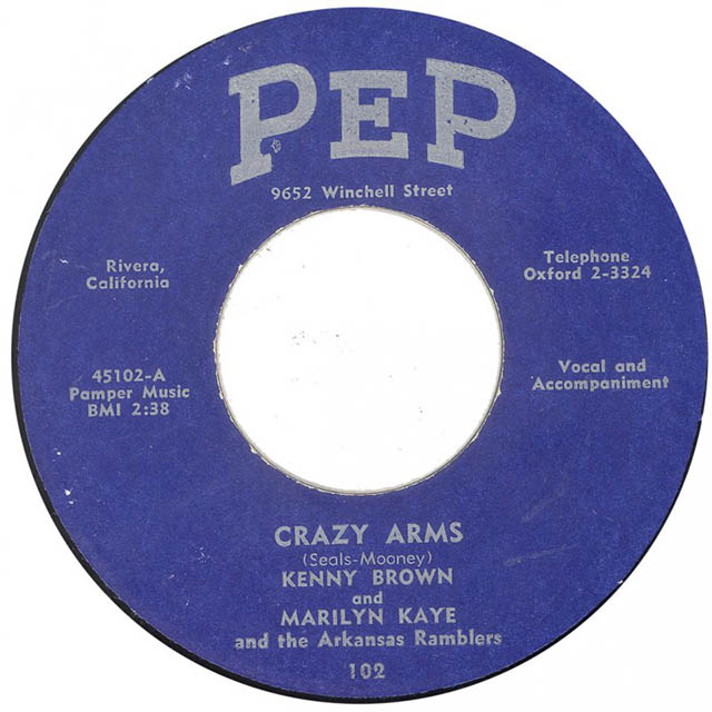 Kenny Brown Marilyn Kaye Crazy Arms