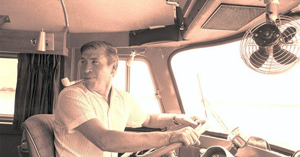 buck owens driving RV