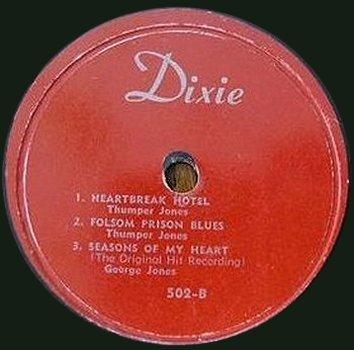 Dixie EP w/ Thumper Jones