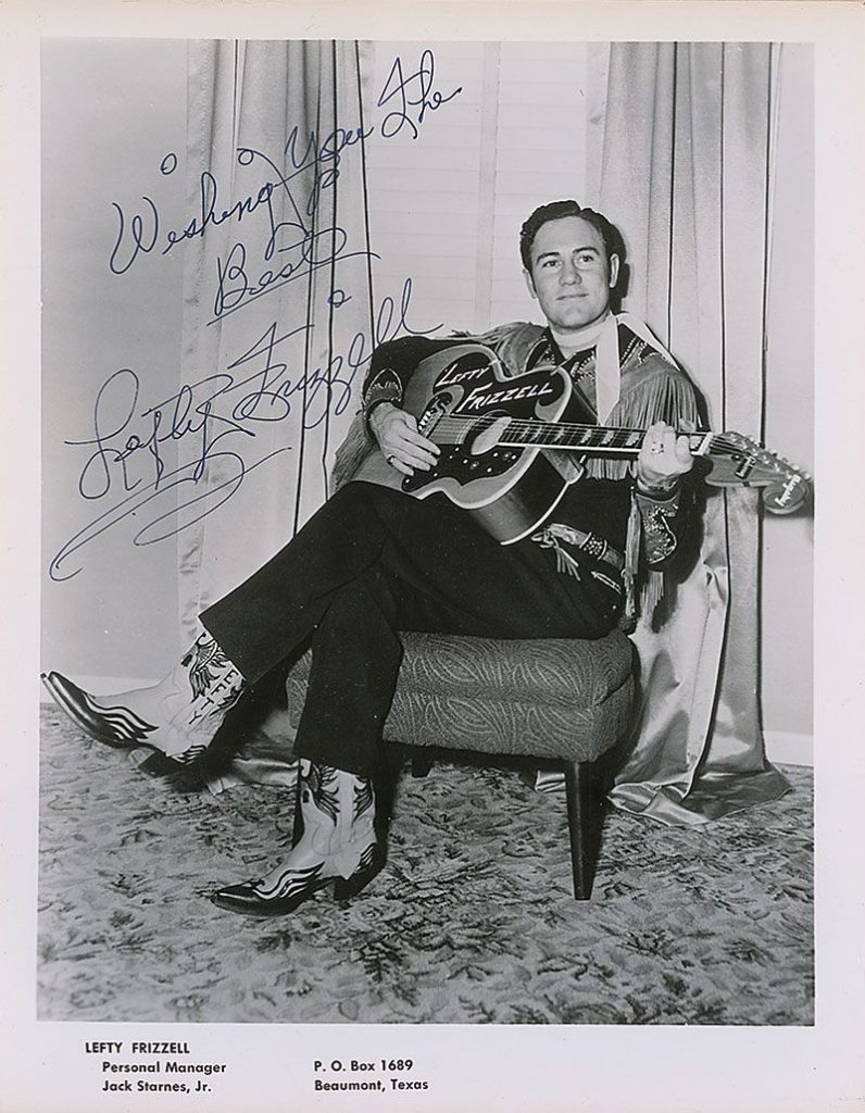 Lefty Frizzell promo picture