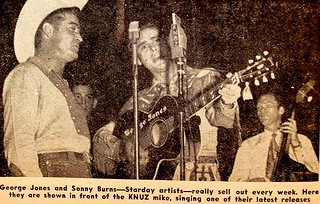 Sonny Burns and George Jones