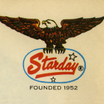 Starday Records eagle logo banner size