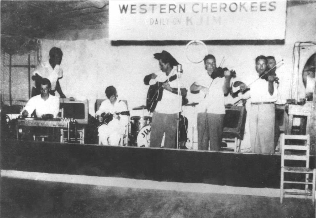 Western Cherokees at Neva's in early '50s