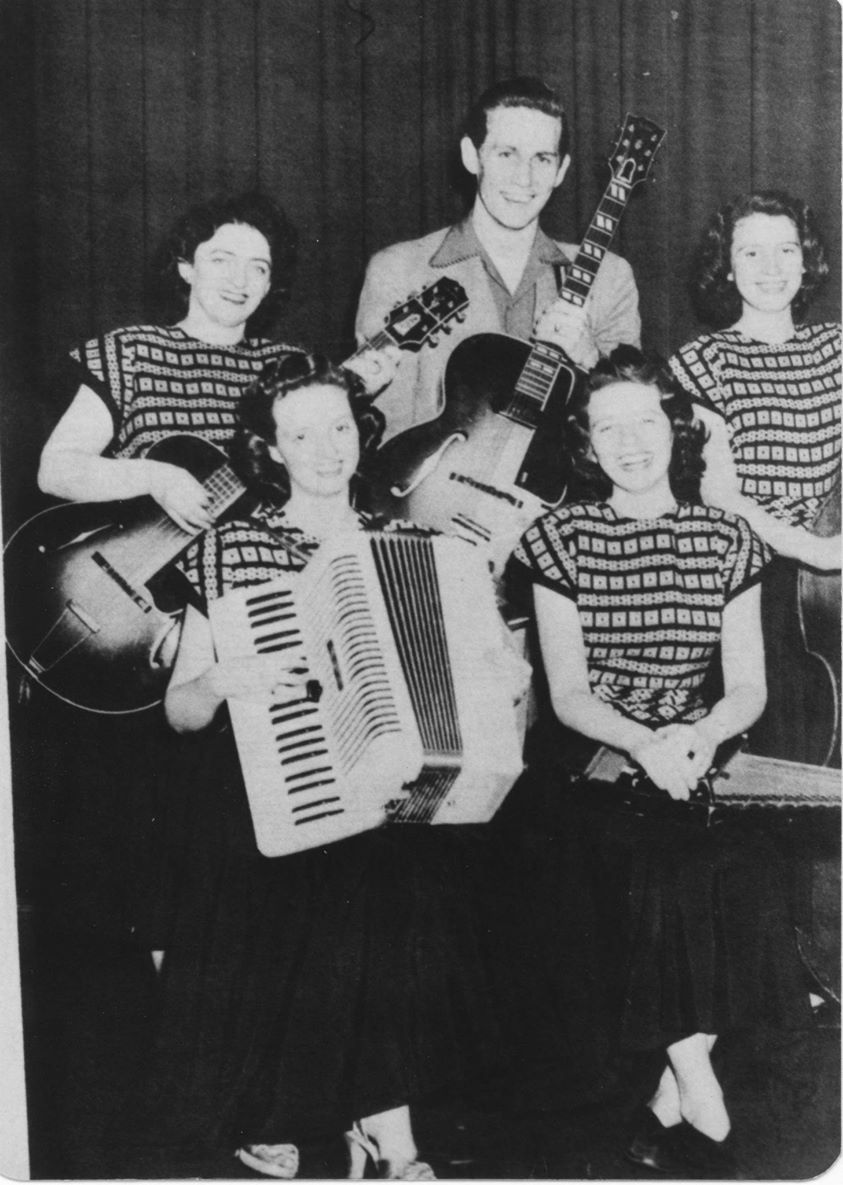 Chet Atkins, The Carter Sisters and Mother Maybelle