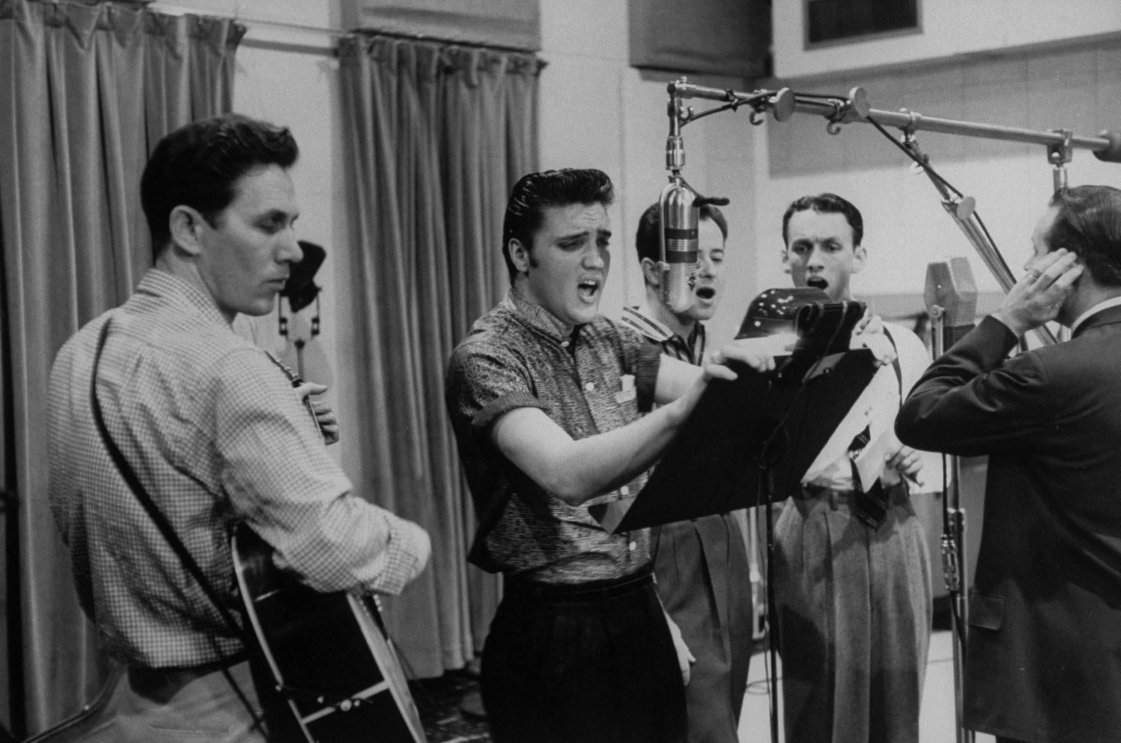 Chet Atkins Elvis Presley The Jordanaires