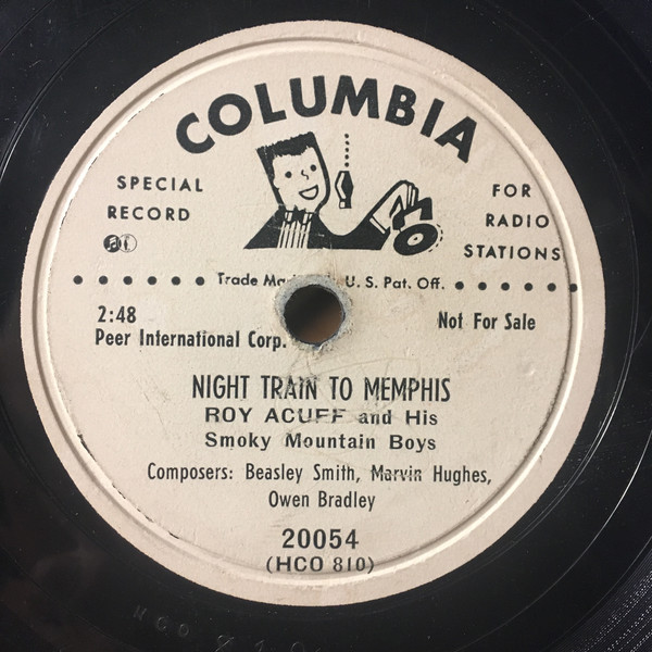 Night Train to Memphis record