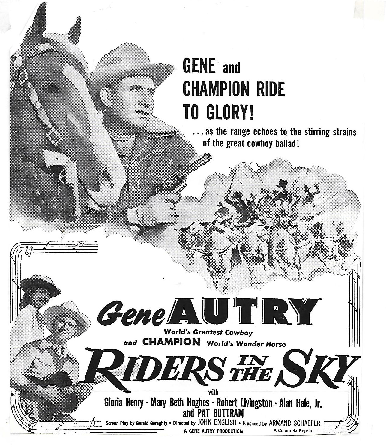 Riders in the Sky movie poster