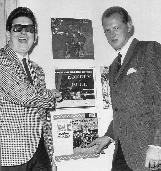 Roy Orbison and Bob Moore