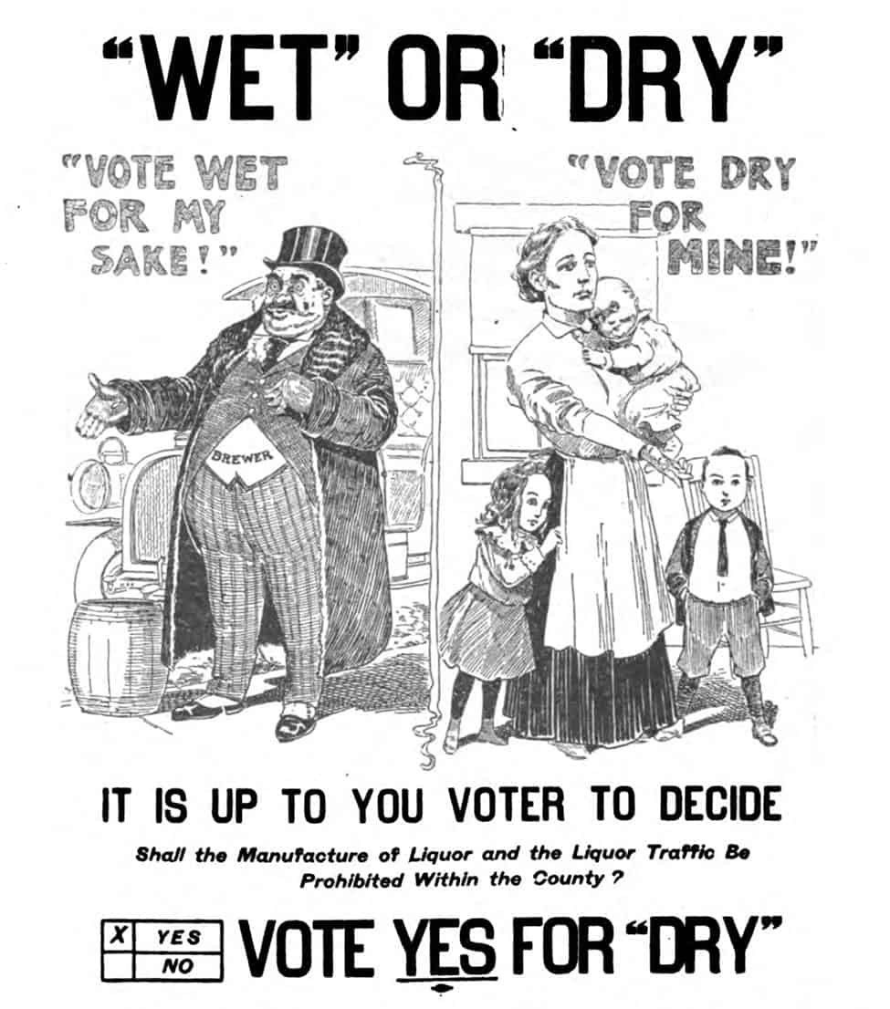 Prohibition propaganda cartoon
