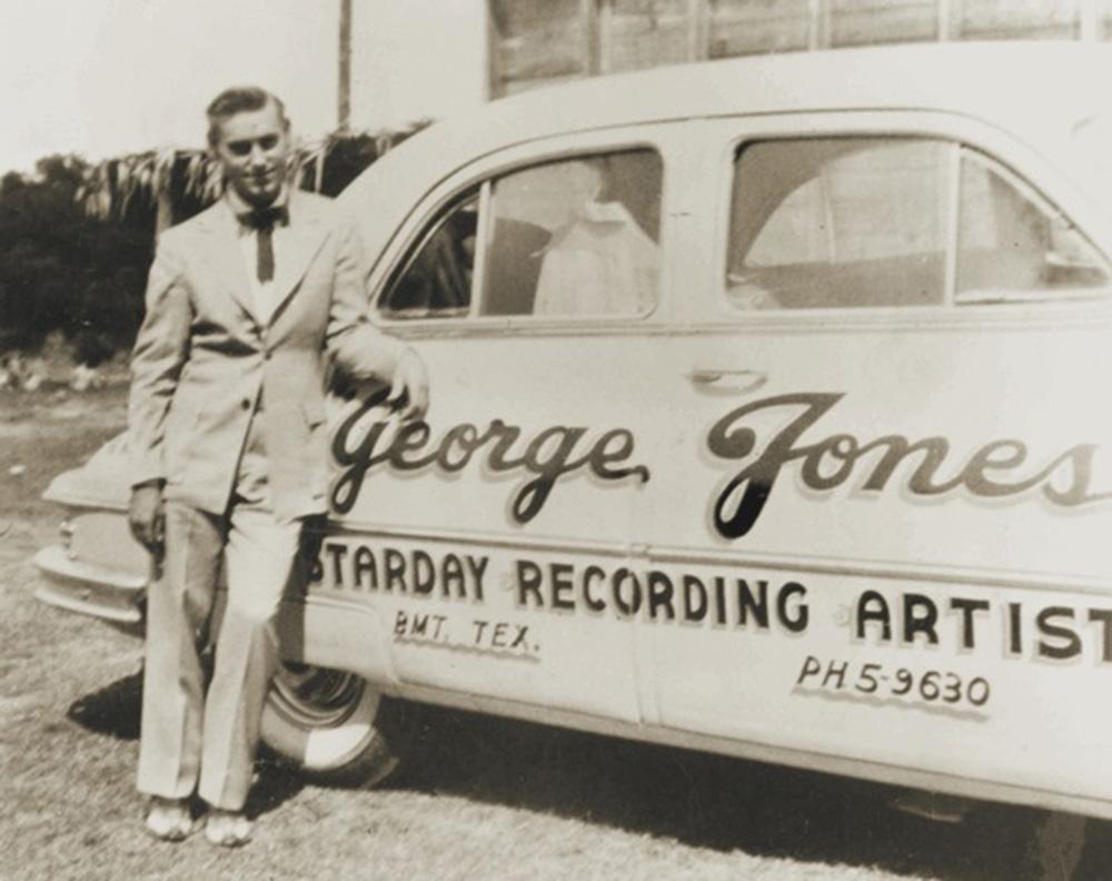 George Jones Starday Recording Artist car