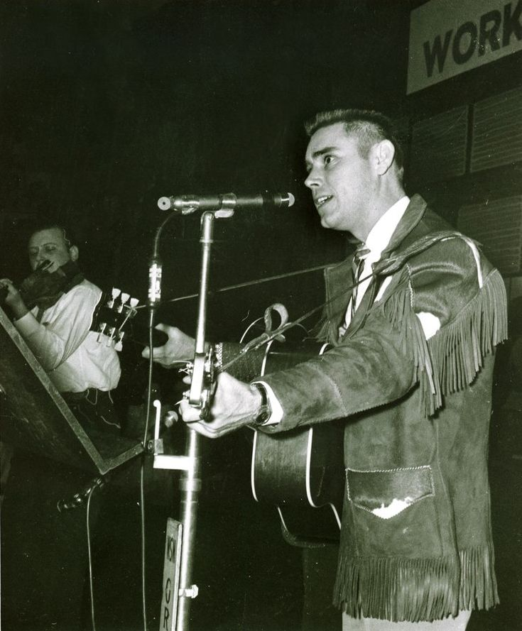 young George Jones on Grand Ole Opry