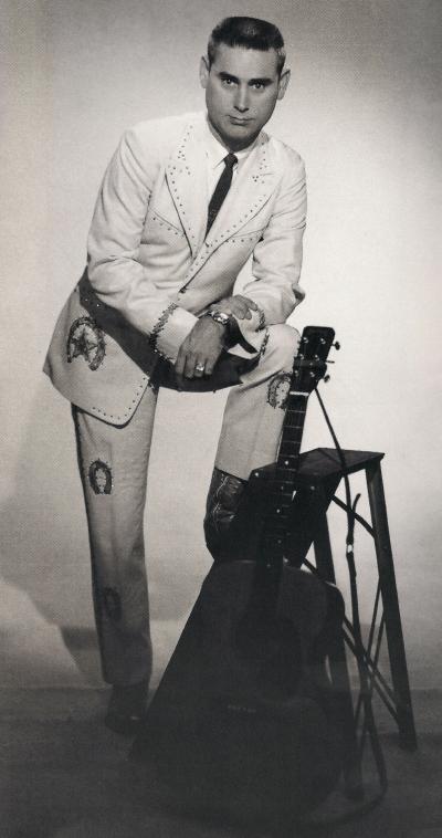 George Jones photo shoot