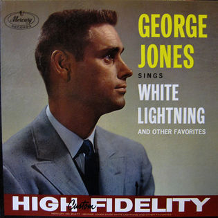 George Jones white lightning album