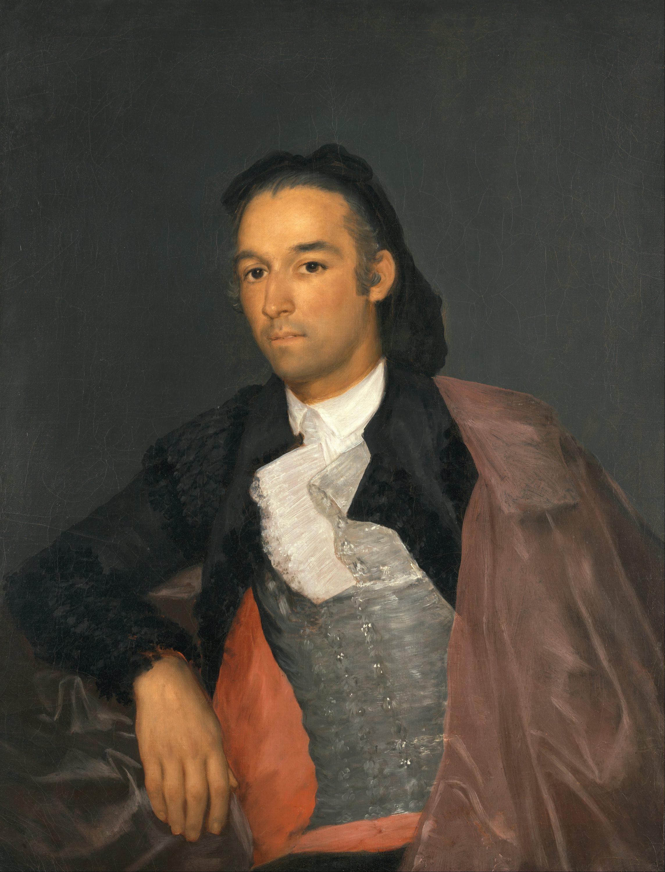 Portrait of the Matador Pedro Romero by Francisco Goya