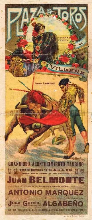 Juan Belmonte poster