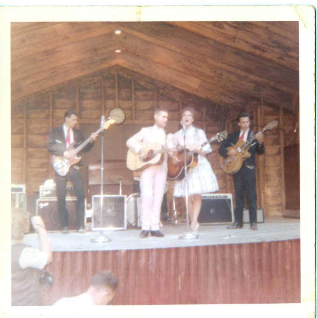 George Jones and Melba Montgomery performing