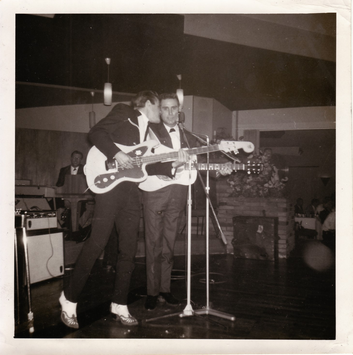 Johnny PayCheck and George Jones