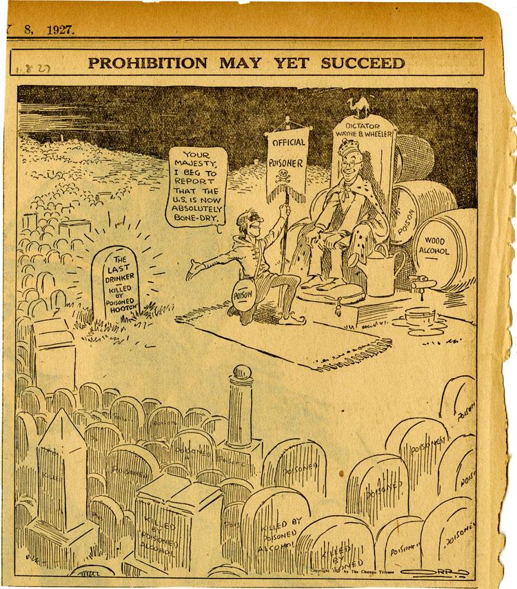 Wayne Wheeler poison cartoon
