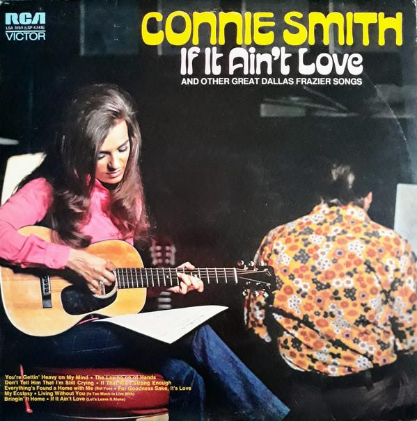 Connie Smith If It Ain't Love LP