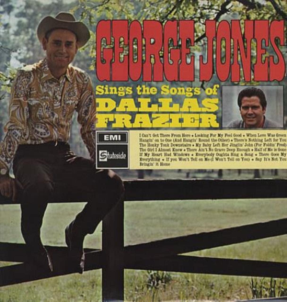 George Jones Sings the Songs of Dallas Frazier LP