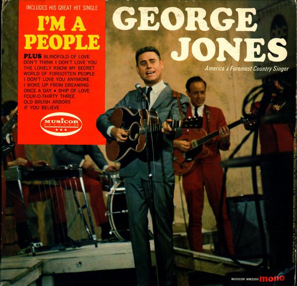 George Jones I'm a People LP