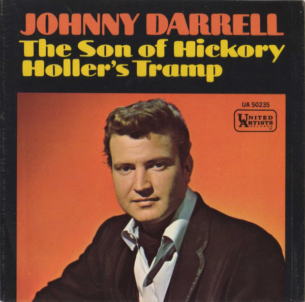 Johnny Darrell The Son of Hickory Holler's Tramp LP