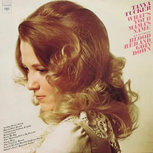 Tanya Tucker What's Your Mama's Name LP