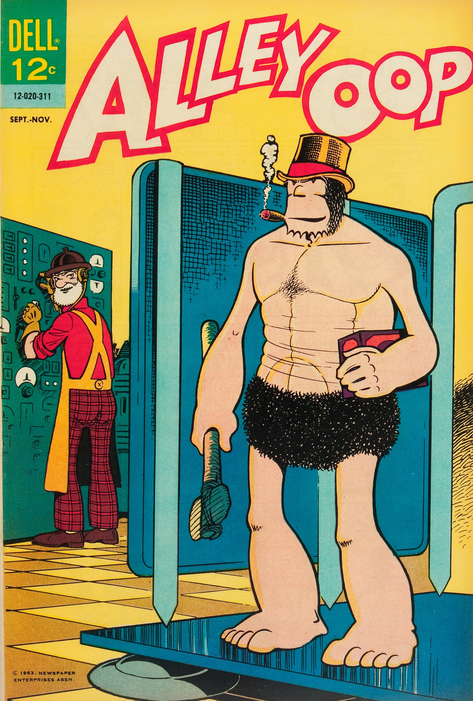 Alley Oop comic book