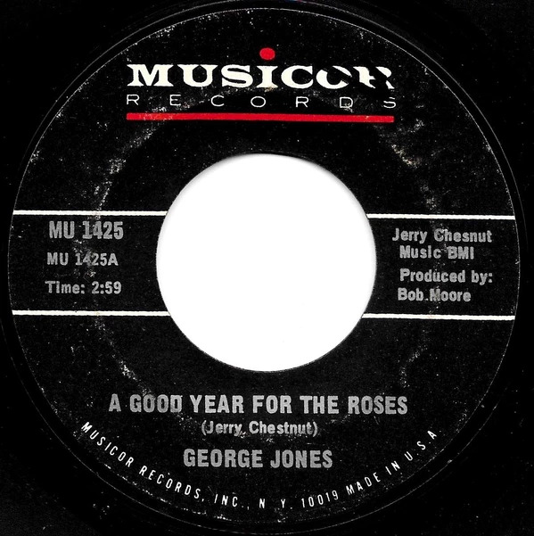 George Jones Good Year for the Roses