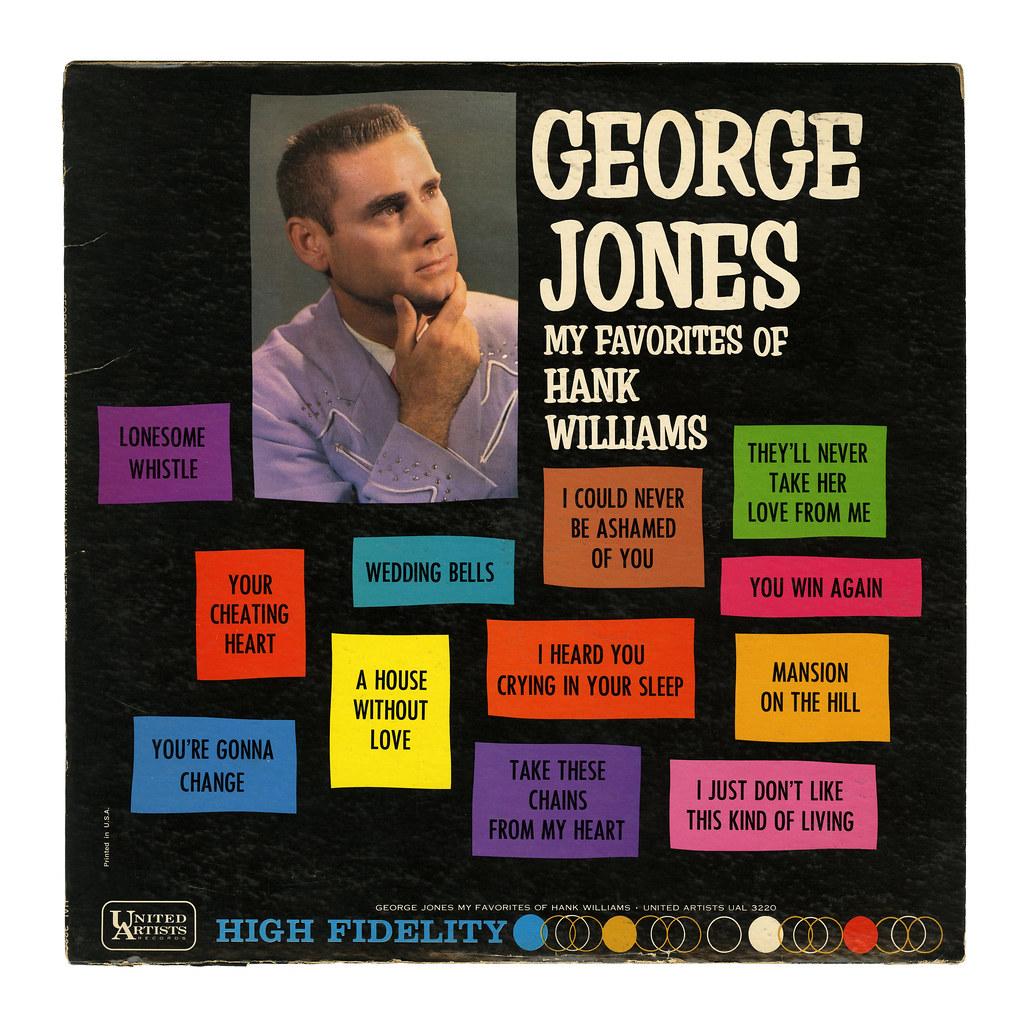 George Jones My Favorites of Hank Williams