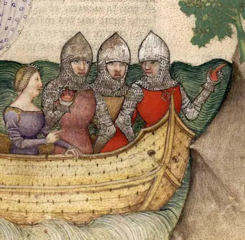 knights on a quest with a lady
